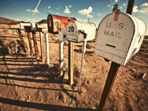 Old Mailboxes in west United States. See my other works in portfolio.